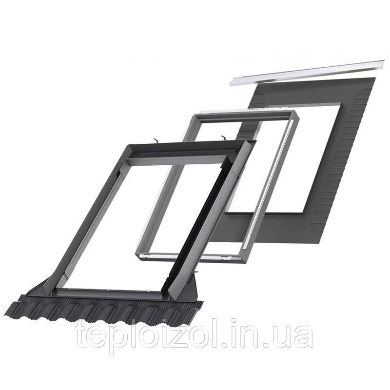 Оклад VELUX EDW 0000 для мансардного окна 78х118мм