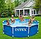 Каркасный бассейн.Сборный бассейн.Бассейн каркасный семейный., фото 2