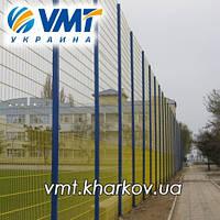 Забор из сетки сварной с порошковой покраской, фото 1