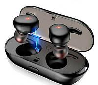 Бездротові навушники Bluetooth 5.0 Alitek T2C Stereo, Black