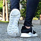 Мужские кроссовки Adidas EQT Support ADV Black&White черные с белым летние в сетку. Живое фото (Реплика ААА+), фото 4
