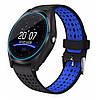 Смарт-часы Smart Watch V9 черный с синим