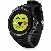 Смарт-часы детские с GPS и камерой Smart Watch Q360 черный, фото 1