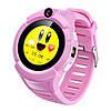 Смарт-часы детские с GPS и камерой Smart Watch Q360 розовый