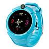 Смарт-часы детские с GPS и камерой Smart Watch Q360 голубой