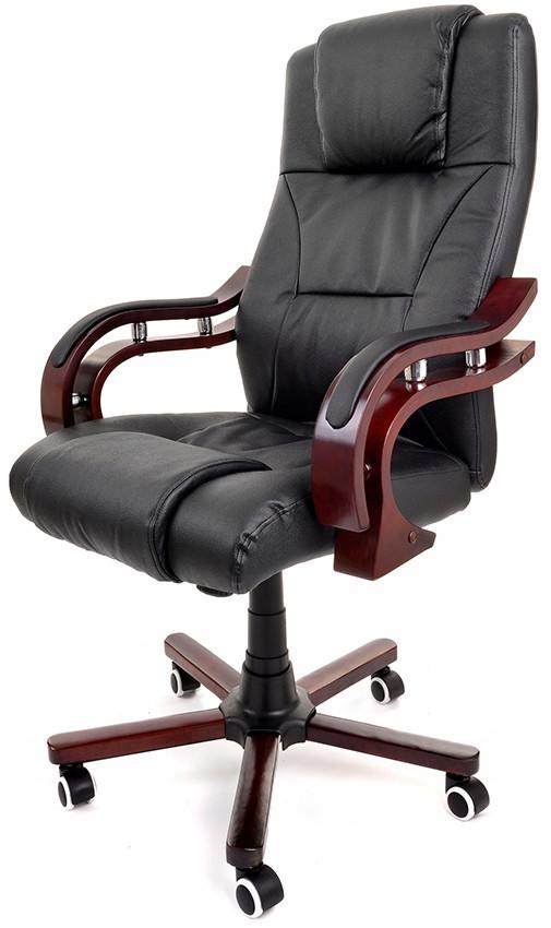 Кресло офисное Prezydent Calviano Черное