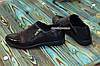 Туфлі жіночі чорні на блискавці, на низькому ходу, з натуральної шкіри, лакової шкіри, фото 2