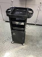Парикмахерская металлическая тележка с отделом под ключ