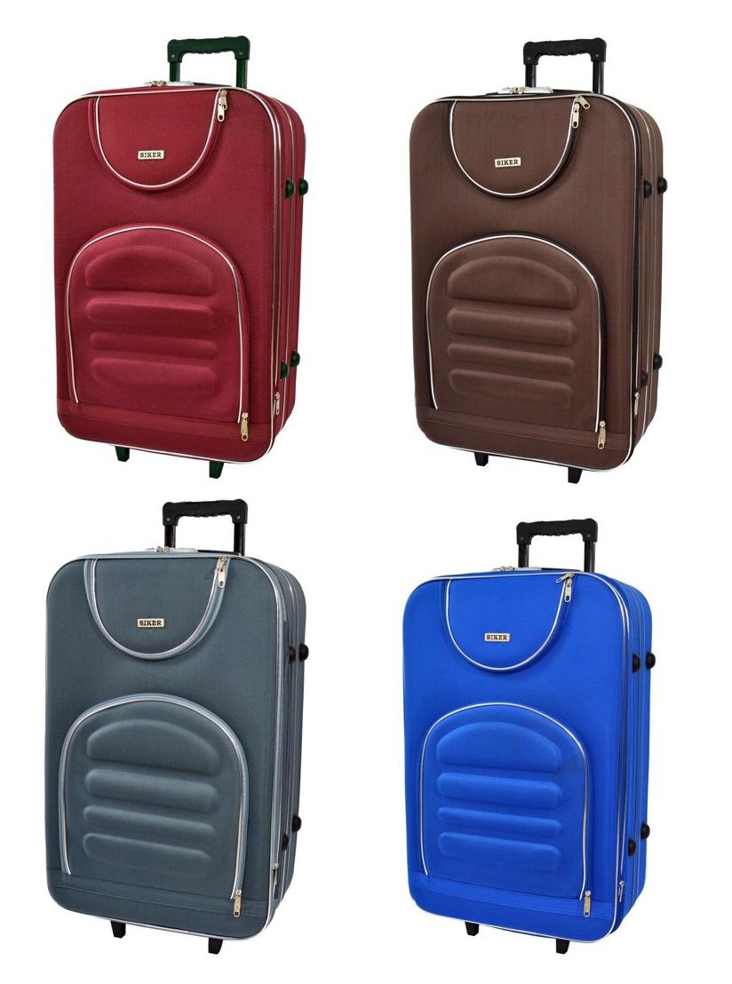 Дорожный чемодан на колесах Siker Lux Небольшой