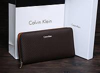 Мужской кошелек Calvin Klein (120)  brown