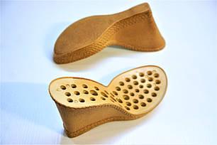 Подошва для обуви женская C-814 беж-пробка. р.38, фото 2