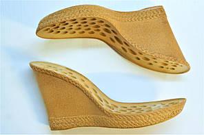 Подошва для обуви женская C-814 беж-пробка. р.38, фото 3