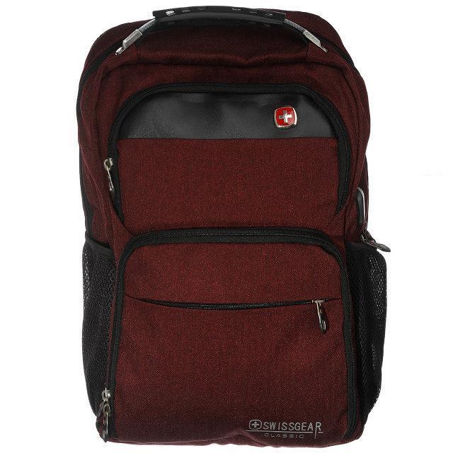 Рюкзак городской спортивный Swissgear (9377) Бордовый