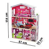 Детский домик для кукол Eco Toys Malibu с лифтом, фото 5