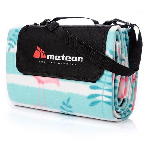 Коврик для пикника и пляжа водонепроницаемый Meteor Flamingo (original) 180х200 см, складывающееся покрывало
