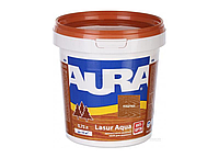Декоративно-защитное средство для дерева Aura Lasur Aqua Каштан 0.75л