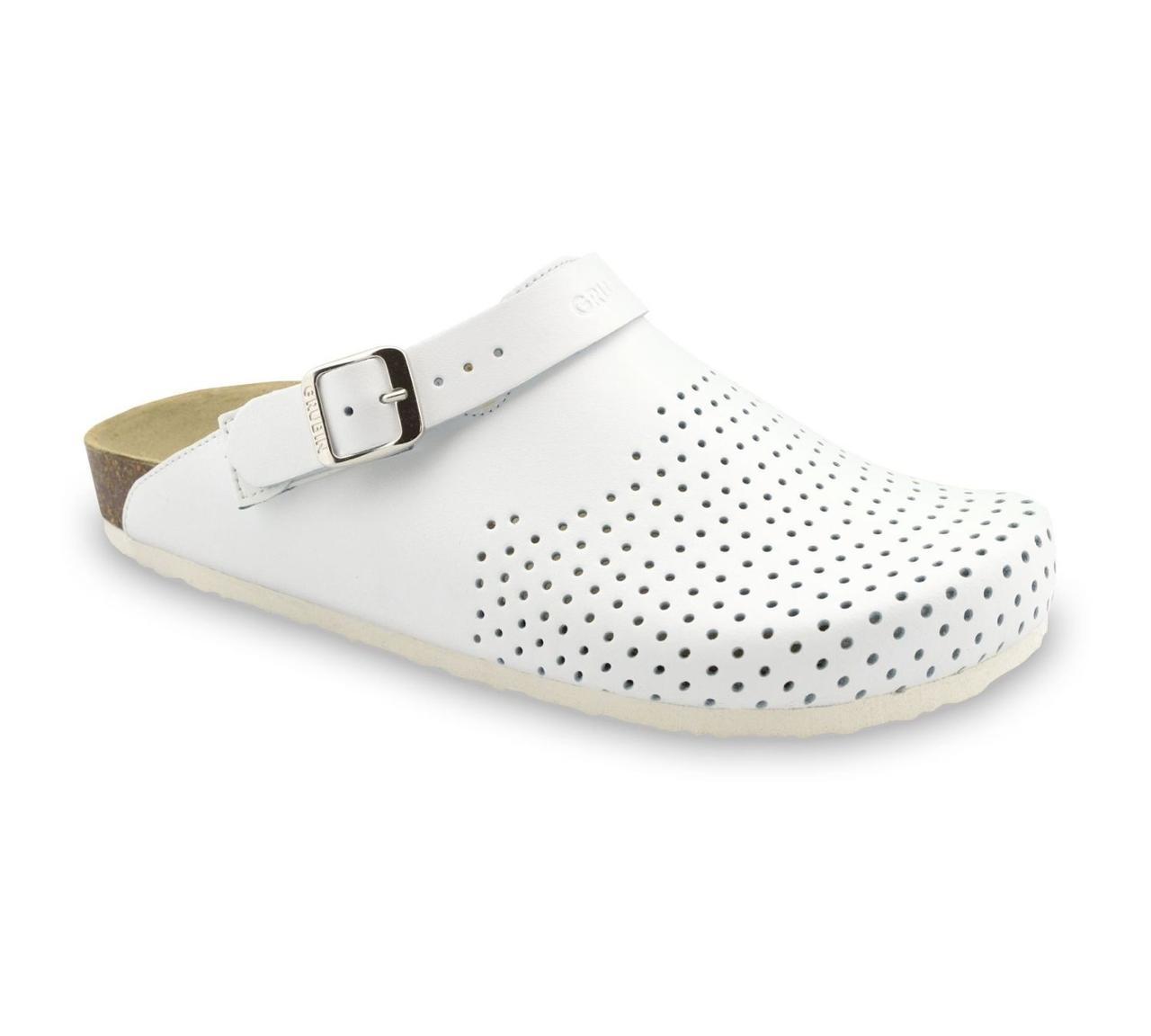 Сабо ортопедические мужские Stocholm, цвет белый, размер 42