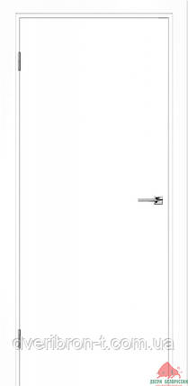 Двери Белоруссии Гладь белая эмаль ПГ, фото 2