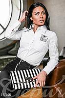 Рубашка с вышивкой Gepur Escape 15346
