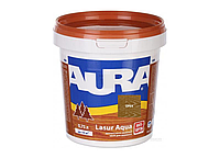 Декоративно-защитное средство для дерева Aura Lasur Aqua Орех 0.75л