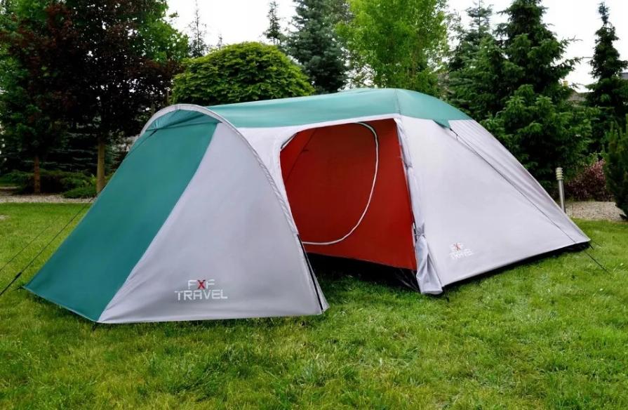 Туристическая Палатка Четырехместная FxF TRAVEL IGLO