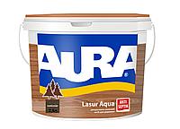 Декоративно-защитное средство для дерева Aura Lasur Aqua Палисандр 2.5л
