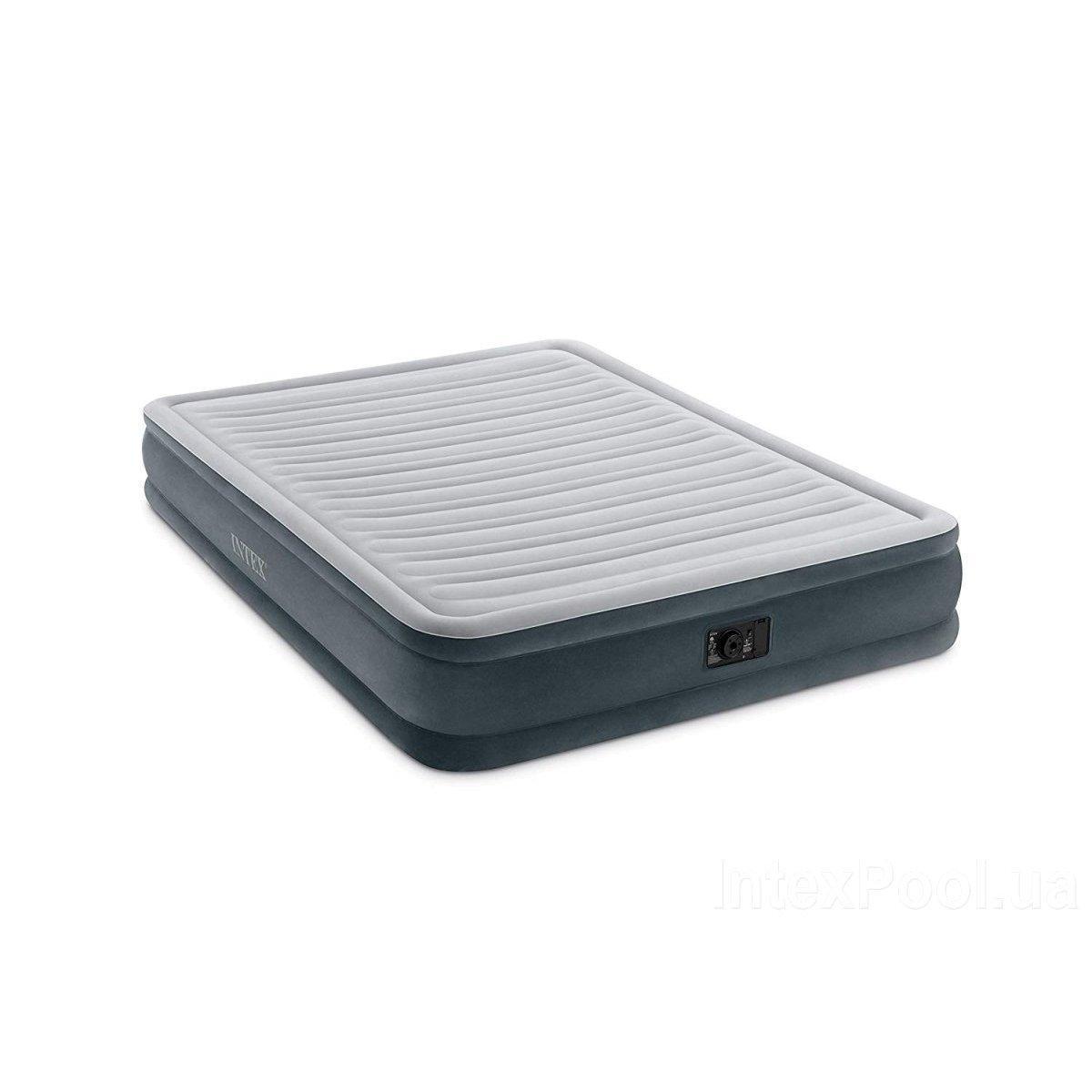Надувная кровать Intex 67770 встроенный электронасос Двухспальная