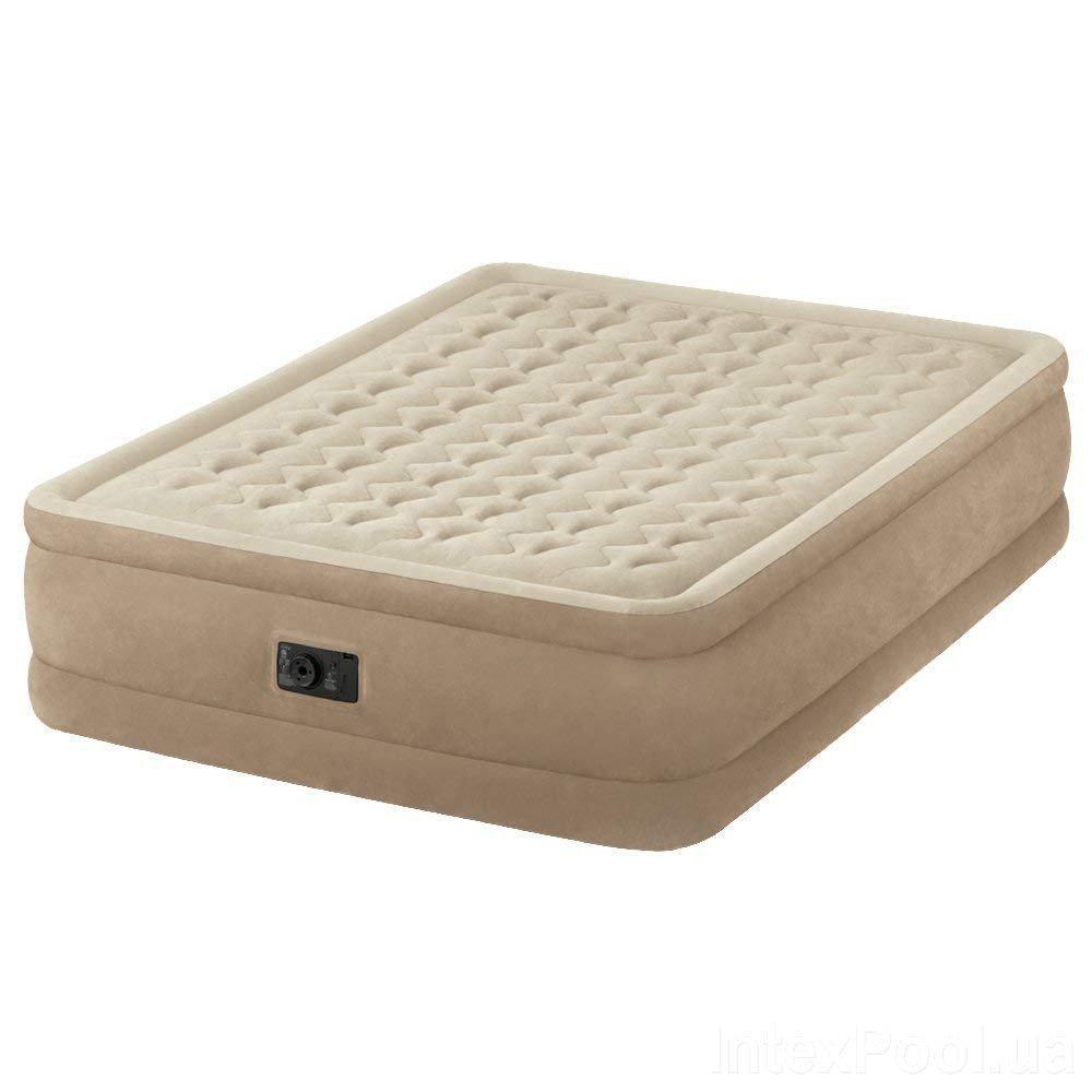 Надувная кровать Intex 64458 встроенный электронасос Двухспальная