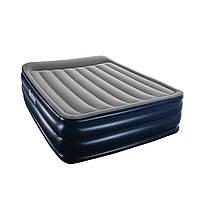 Надувная кровать Bestway 67528 встроенный электронасос Двухспальная, фото 1