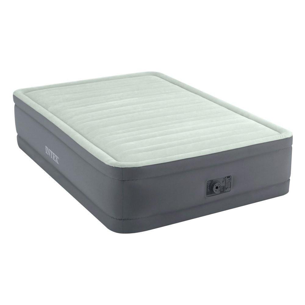 Надувная кровать Intex 64904 встроенный электронасос Полутороспальная
