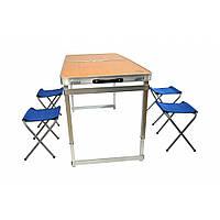 Раскладной стол для пикника со стульями Bonro модель C