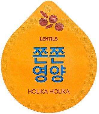 Питательная ночная маска HOLIKA HOLIKA SUPERFOOD CAPSULE PACK - FIRMING LENTILS, 10 мл