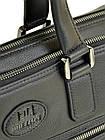 Портфель кожаный BRETTON BE 5415-1 black на 2 отделения, фото 2