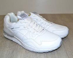 Качественные мужские кроссовки белые 44-46