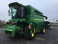 Комбайн зерноуборочный JOHN DEERE W440 PTC-2014 бу