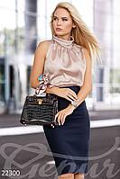 Блуза без рукавов Gepur Point 22300