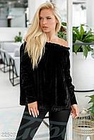Велюровая блуза-клеш Gepur Season change 22503