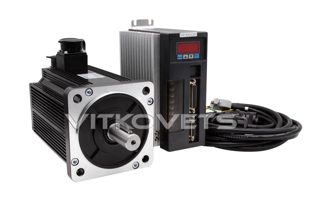 Сервомотор, серводрайвер 130ST-M15015, 2.3 Kw, 15 Nm