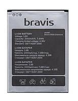 Аккумулятор Bravis S500 Diamond. Батарея Bravis S500 (Бравис С500). Original АКБ (новая) - 2000 мач