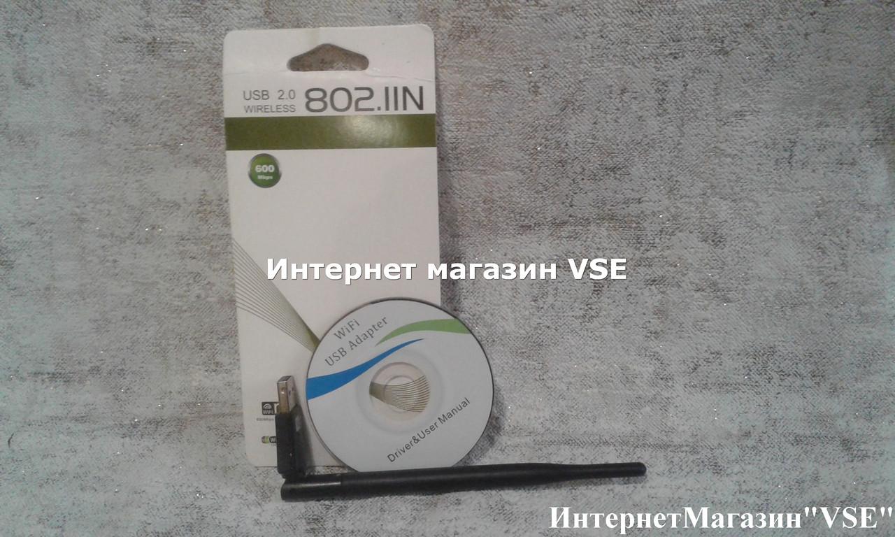 USB WI-FI Адаптер WF 802.1IN Мини USB адаптер wi-fi маршрутизатор