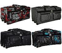 Дорожная сумка на колесах RGL A4 225 л материал Codura с выдвижной ручкой, фото 1