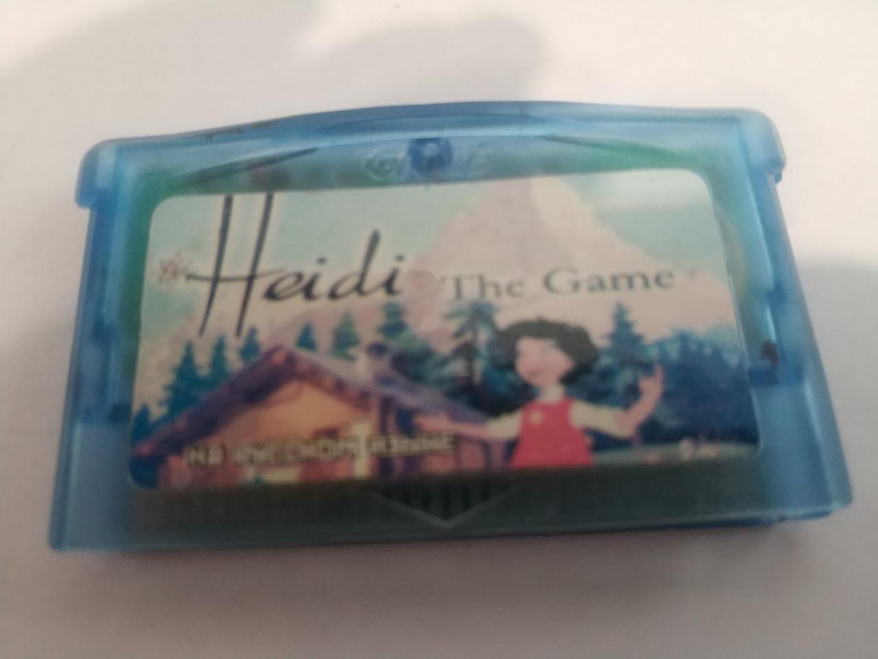"Игра для GBA ""Heidi - The Game"""