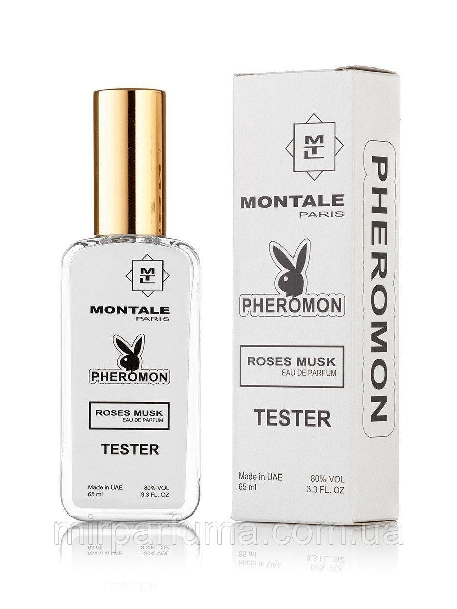 Тестер женский реплика Montale Roses Musk - Pheromon Tester 65ml