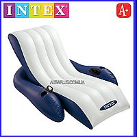 Матрац Intex Кресло-шезлонг 180х135см
