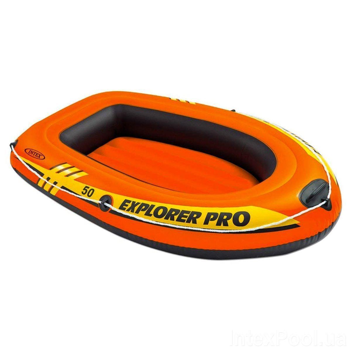 Одноместная надувная лодка Intex 58354 Explorer Pro 50