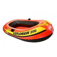 Полутораместная надувная лодка Intex 58356 Explorer Pro 200
