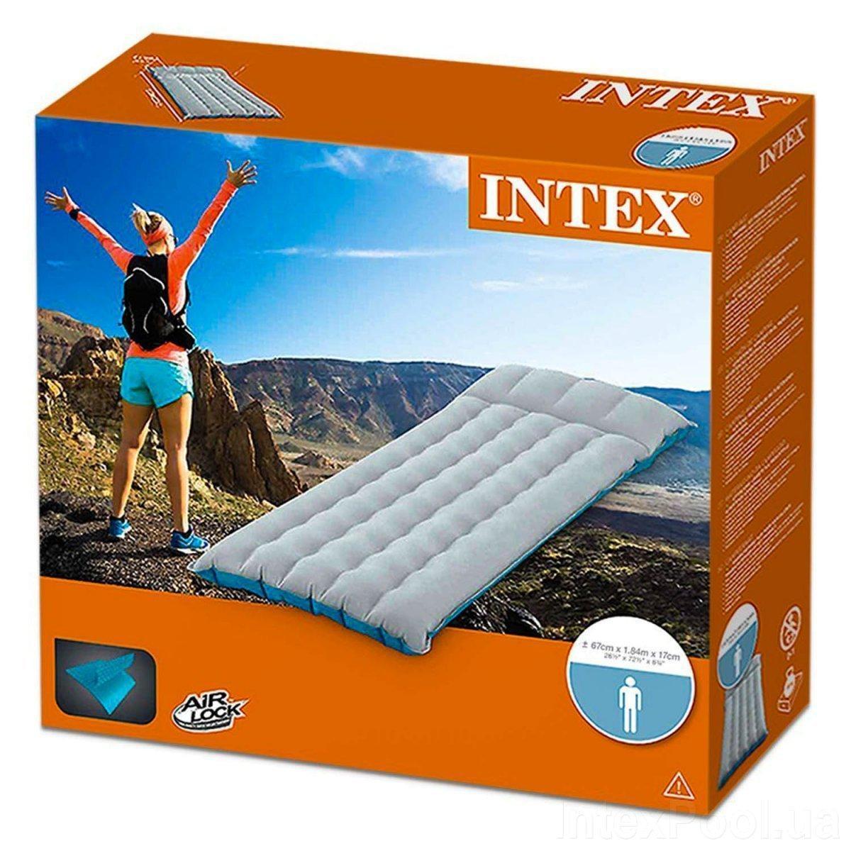 Односпальный надувной матрас Intex 67997