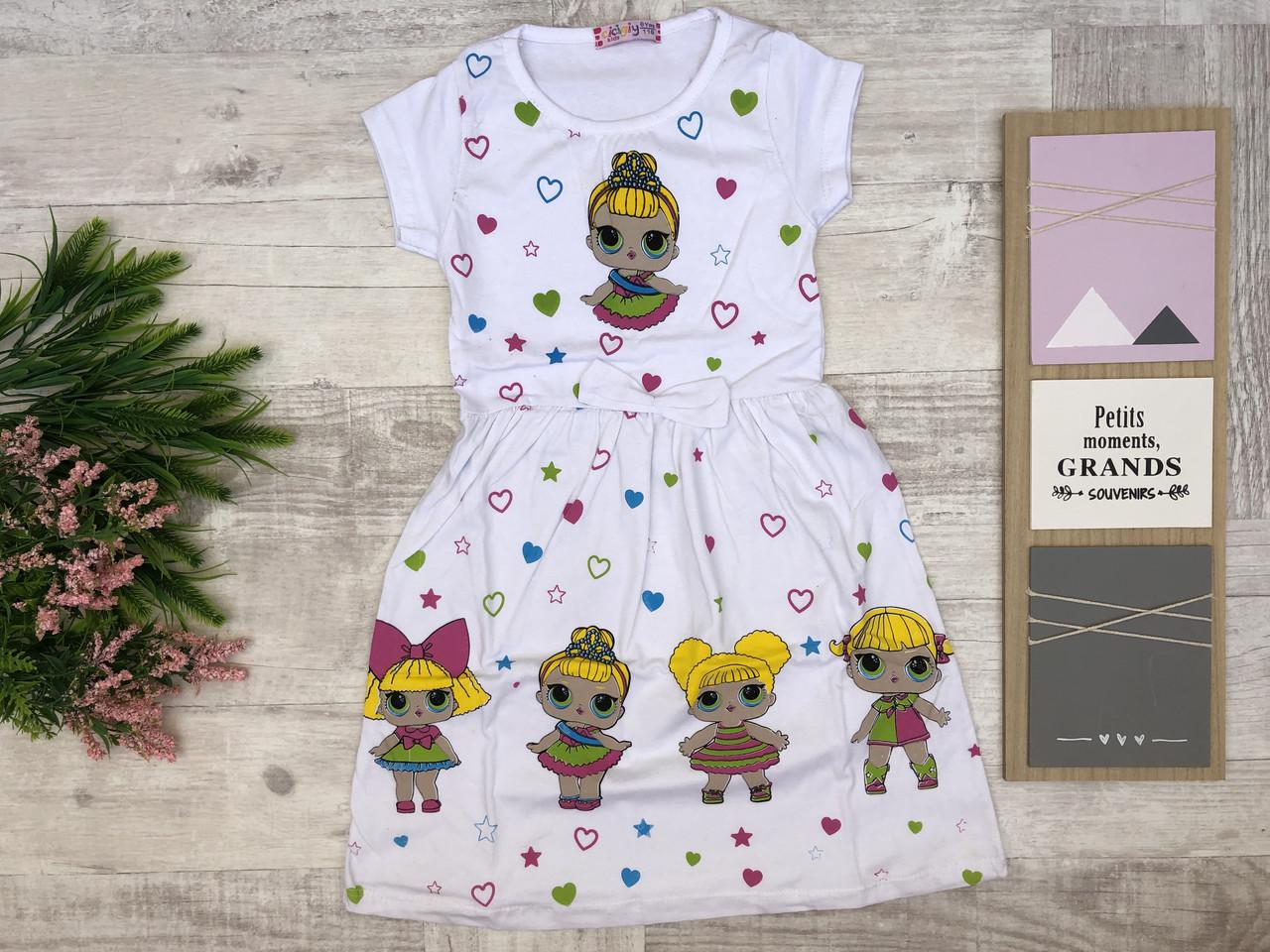Детское платье 2-3-4-5-6 лет