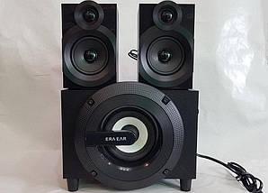Акустика 2.1 FL-C2 40W акустична система для будинку USB/Bluetooth/FM-радіо/Mp3, фото 3
