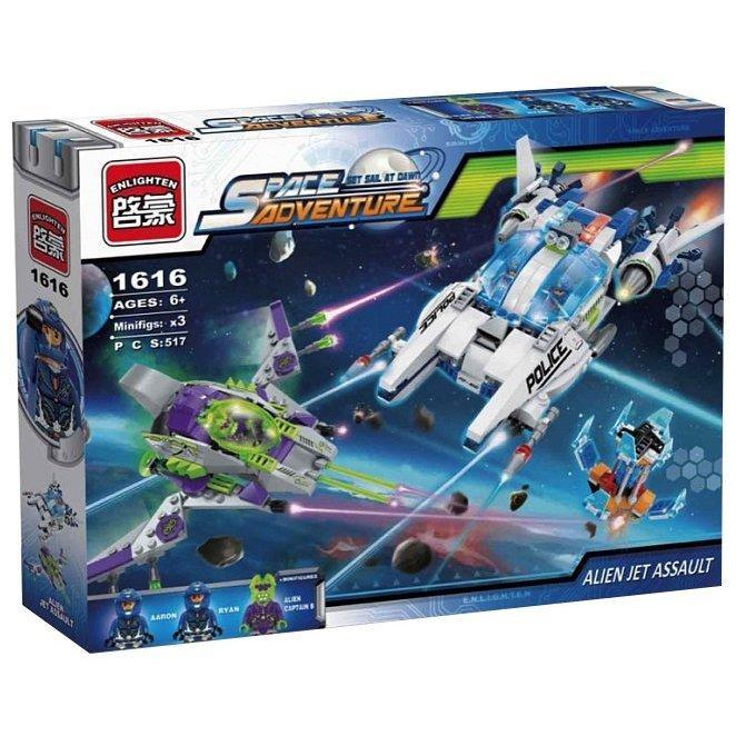 Конструктор Enlighten Brick 1616 КОСМОС - Космические корабли (517 дет.)